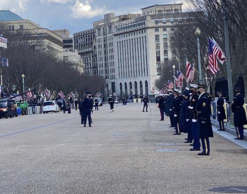 شاهد : البنتاغون ينشر 2750 جندياً من القوات الامريكية لدعم حفل تنصيب بايدن