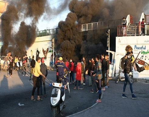 الناصرية.. إصابات إثر مصادمات بين الأمن العراقي والمتظاهرين