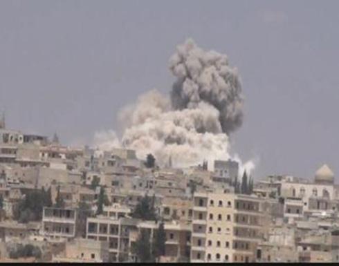 قتلى بغارات روسية في إدلب وهدوء بوادي بردى
