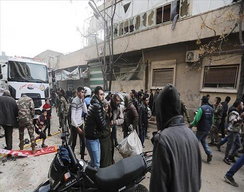 شاهد : قتلى واصابات في تفجير إرهابي بأعزاز السورية