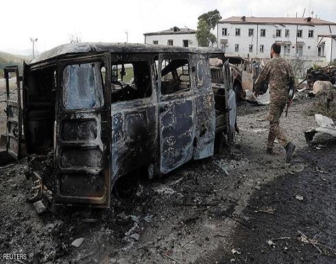 أرمينيا: قذائف مدفعية من أذربيجان تخرق الهدنة الإنسانية