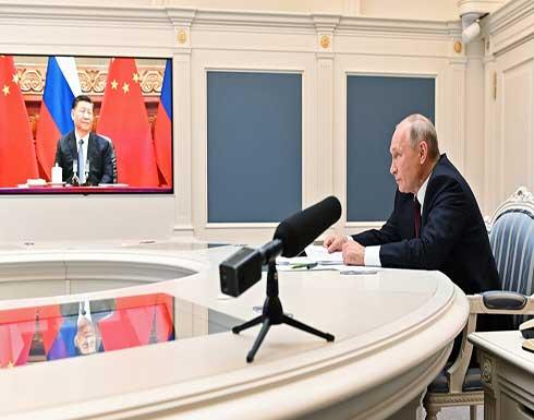 بوتين: العلاقات الروسية الصينية أصبحت نموذجا يحتذى به في التعاون بين الدول