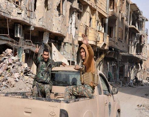 المرصد: داعش يسيطر على كامل مدينة البوكمال