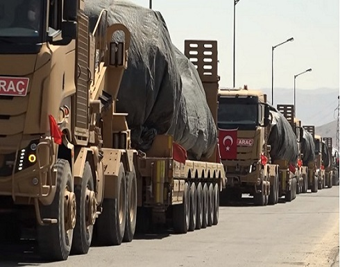 قوات تركية تصل إلى أذربيجان لإجراء مناورات مشتركة
