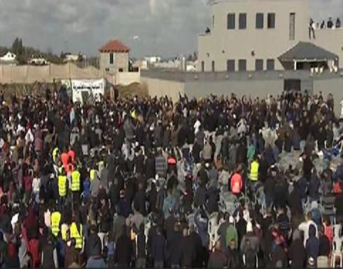 مظاهرة بالخط الأخضر احتجاجا على هدم منازل عربية