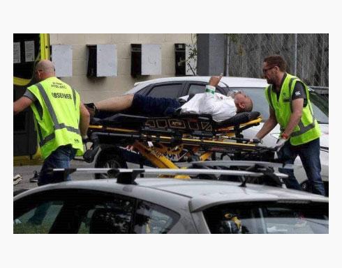 شاهد بالفيديو : نيوزلندا.. مذبحة بهجوم إرهابي على مسجدين أثناء صلاة الجمعة