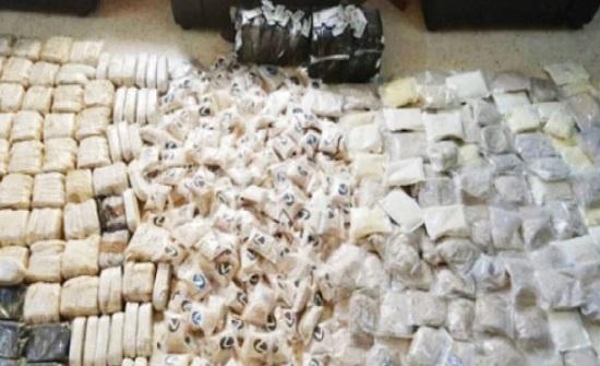 قضية مخدرات في الأردن كل 27 دقيقة العام الماضي