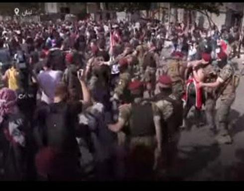 شاهد : احتجاجات لبنان تتصاعد