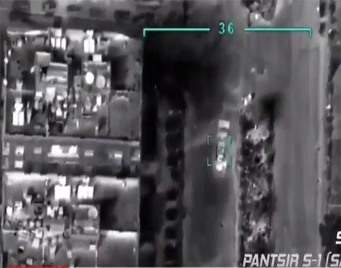 شاهد : الاتراك يردون على الروس بتسريب رصد منظومة بانتسير للدفاع الجوي
