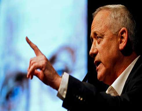 غانتس: إسرائيل مستعدة للعمل لدى الجهات الدولية لمساعدة لبنان في الخروج من أزمته