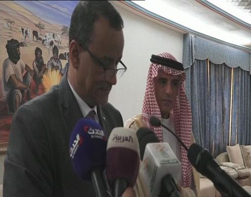 شاهد .. ولد الشيخ أحمد: تجمعنا والسعودية علاقات ثنائية متينة
