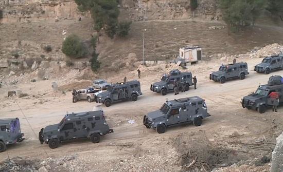 قائد الدرك الاردني : انتشار أكثر من 35 ألف رجل أمن في المحافظات