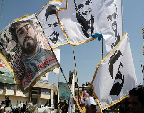 بالفيديو : تظاهرة حاشدة في بغداد.. وصور لناشطين اغتيلوا غدراً