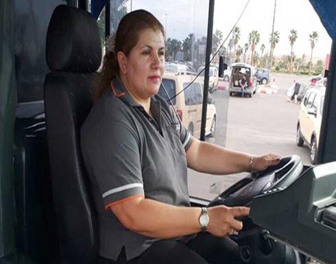 النساء بتن يقدن الحافلات في المغرب