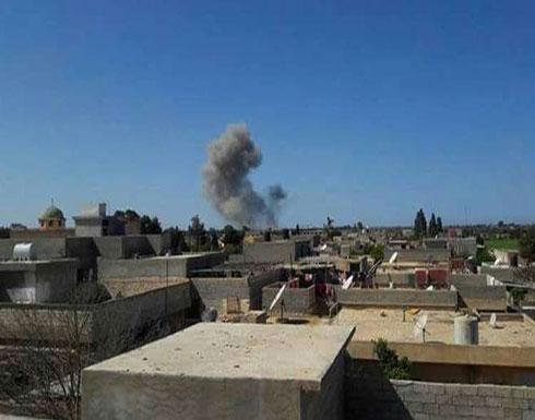 """سلاح الجو الليبي يستهدف مواقع لتنظيم """"القاعدة"""" في درنة"""