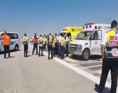 شاهد : طائرة أمريكية ثُقِبَ أحد إطاراتها تهبط في مطار بن غوريون