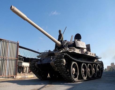 الجيش الليبي يقصف 20 موقعا للوفاق في مصراته