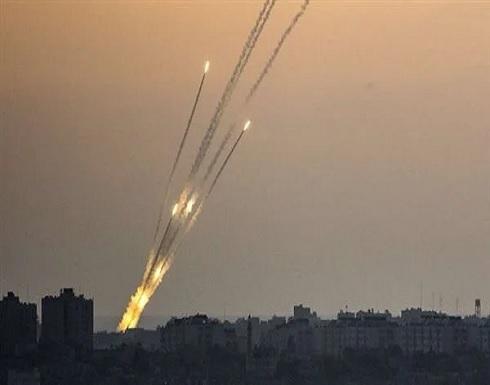 المقاومة الفلسطينية تمطر إسرائيل بوابل كثيف من الصواريخ .. بالفيديو
