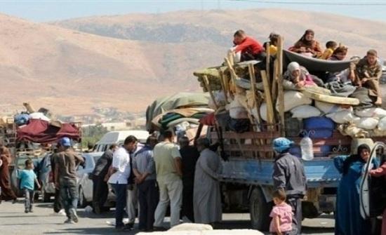 10 آلاف نازح سوري قرب الشريط الحدودي الشمالي