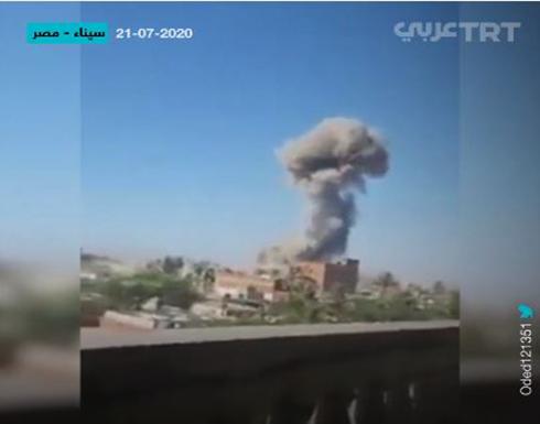 شاهد : خسائر فادحة للجيش المصري في هجمات متزامنة بسيناء