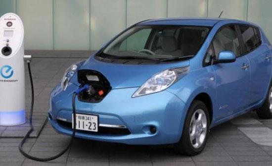 إعفاء المركبات الكهربائية الموجودة في المنطقة الحرة