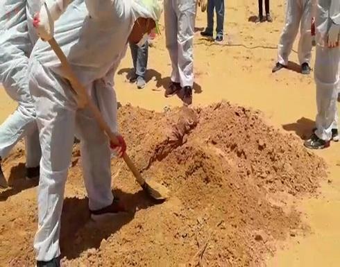 جرائم حفتر تتكشف.. 4 مقابر جماعية بترهونة