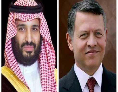 الملك يتلقى اتصالا هاتفيا من ولي العهد السعودي