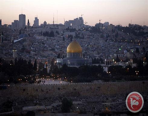 الرئاسة: لاحل بدون القدس واللاجئين