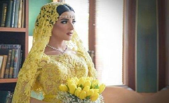 بالصور : عروس أندونيسية بملامح عربية تجذب مواقع التواصل