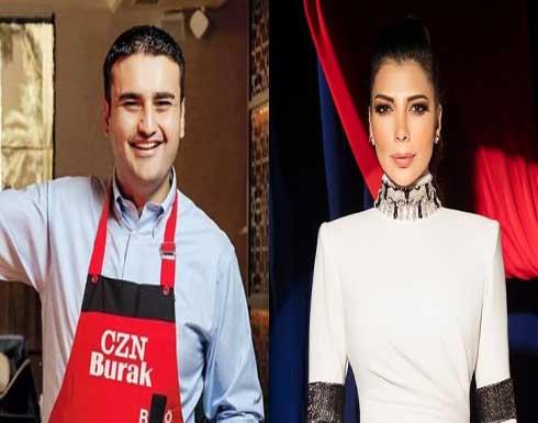 أصالة تشارك الشيف التركي بوراك أحد استعراضاته .. فيديو