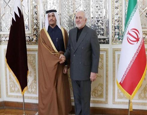 """قطر وإيران تبحثان سبل """"الحفاظ على الأمن الجماعي للمنطقة"""""""