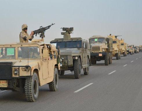 سيناء.. الجيش المصري يقتل 16 إرهابياً ويدمّر 66 وكراً