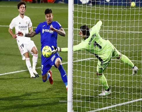 بالصور.. ريال مدريد يسقط في فخ خيتافي