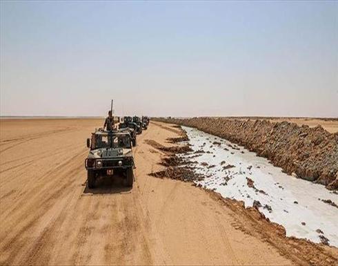 الجيش الليبي يبدأ تفعيل النقاط الأمنية الحدودية مع تونس