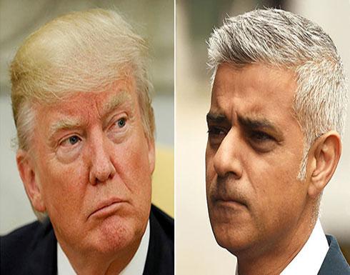 """قبيل وصوله بريطانيا.. ترمب يصف رئيس بلدية لندن بـ""""الفاشل"""""""