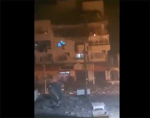 استشهاد 3 فلسطينيين وإصابة 4 آخرين جراء قصف الاحتلال منزلا في غزة .. بالفيديو