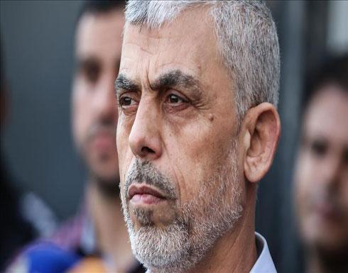 السنوار: حريصون على كسر الحصار الإسرائيلي عن غزة