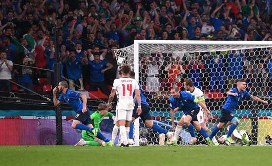 """إيطاليا تتوج بلقب بطولة كأس أمم أوروبا لكرة القدم """"يورو 2020"""""""