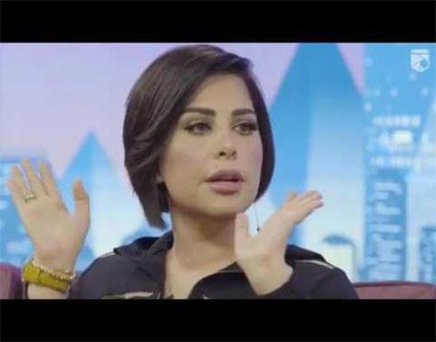 بالصور:  شمس الكويتية بفستان أسود لامع مثير للجدل