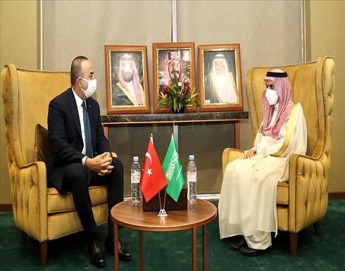 تشاووش أوغلو: الشراكة التركية السعودية تصب في مصلحة المنطقة