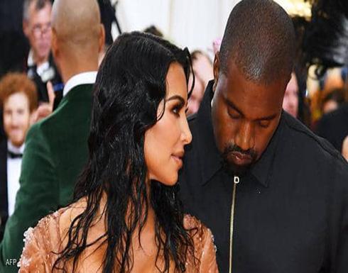كيم كارداشيان تطلب الطلاق من زوجها المغني كاني ويست
