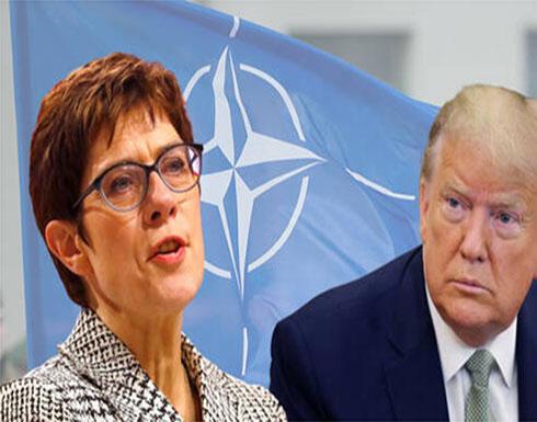 وزيرة الدفاع الألمانية لترامب: حلف الناتو ليس منظمة تجارية والأمن ليس سلعة يتم تداولها