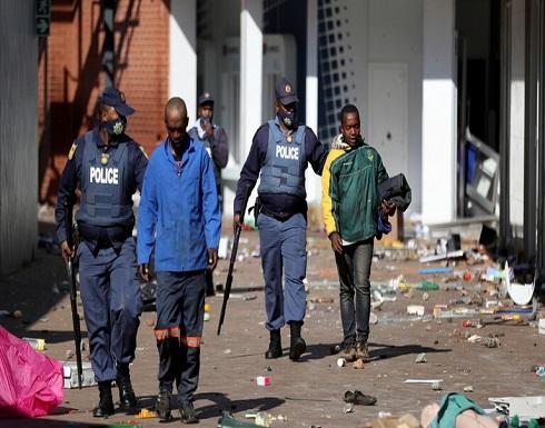 """""""فرانس برس"""": ارتفاع عدد القتلى في جنوب إفريقيا جراء الاحتجاجات إلى 32"""