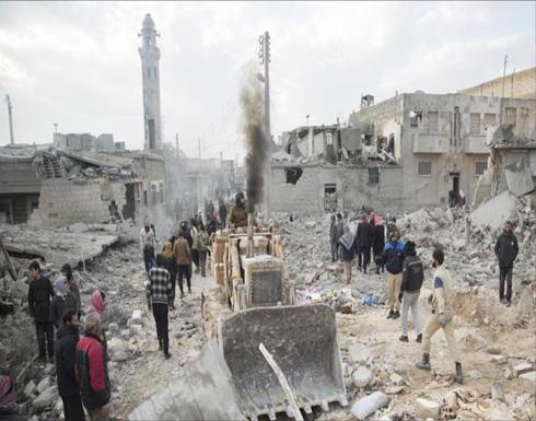 ضحايا مدنيون بغارات روسية وتركية شمالي سوريا