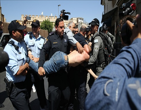 مواجهات بين فلسطينيين والشرطة الإسرائيلية بالقدس