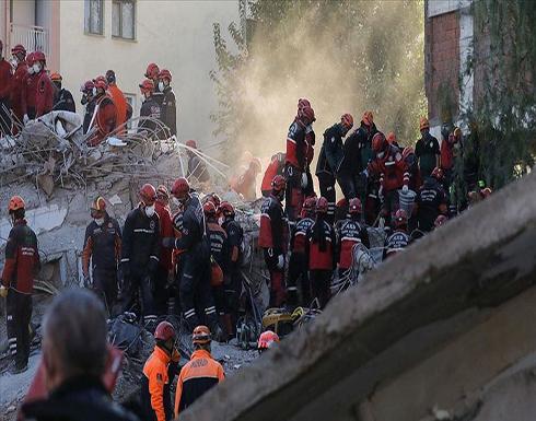 زلزال إزمير.. ارتفاع عدد الضحايا إلى 91 قتيلا