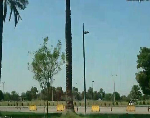 سقوط 5 صواريخ كاتيوشا على المنطقة الخضراء في بغداد