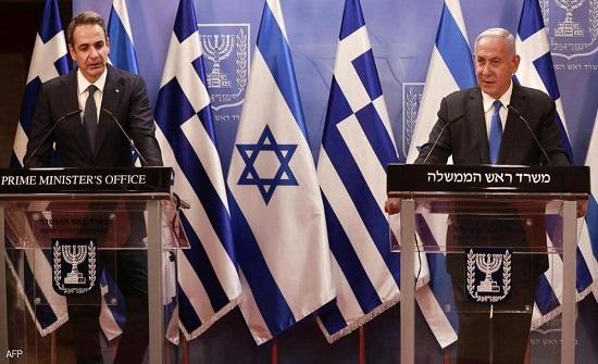 """""""إسرائيل"""" واليونان توقعان أكبر صفقة دفاعية بينهما"""