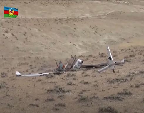 شاهد : القوات الأرمينية والأذربيجانية تنشران فيديو لإسقاط طائرات مسيرة معادية