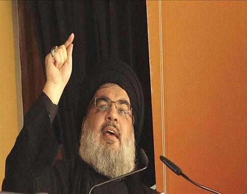 نصر الله: واشنطن تريد تنازلات لبنانية في موضوع الحدود